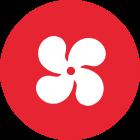 HVAC Fan Symbol
